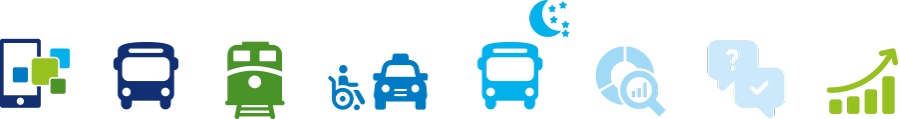 OWL Mobil · Für Mobilität in den Kreisen Minden-Lübbecke, Herford und Gütersloh · Icons
