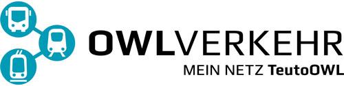 OWL Mobil · Für Mobilität in den Kreisen Minden-Lübbecke, Herford und Gütersloh · Logo OWL Verkehr